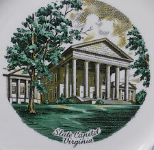 STATE of VIRGINIA VA Antique CHINA Plate Imperial Salem OH Mother Presidents