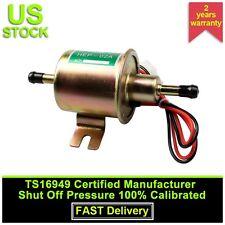 Gas Diesel Inline Low Pressure Electric Fuel Pump 12V HEP02A HEP-02A 4-7 PSI