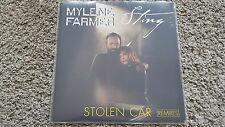 Mylene Farmer & Sting - Stolen car [Remixes] 12'' Disco Vinyl STILL SEALED!!