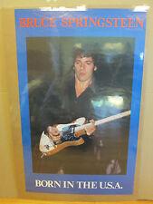 "Vintage bruce springsteen ""Born in the U.S.A."" original Poster 5774"