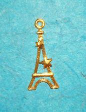 Pendant Eiffel Tower Charm French Charm Paris France Landmark Love Charm Romance