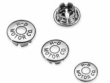 HARLEY DAVIDSON NEW OEM MOTOR CO KIT-CHROME 1/4 IN ALLEN HOLE 10pc MADE IN USA
