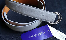 RALPH LAUREN PURPLE LABEL Grau Gürtel Belt Gr M MADE in ITALY