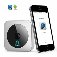 Wireless Video Doorbell, WiFi Security Camera w/ Motion Detection & Night Vision