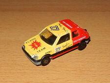 Majorette N°281/210 Peugeot 205 GTI Flash Team