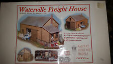 HO Waterville Freight House WFH005 Railway Heritage Models NIB Laser-Cut