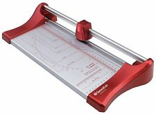 Swordfish A4 Slimline Craft Paper Card Trimmer Guillotine Cutter 10 Sheet - RED
