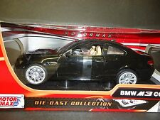 Motormax BMW M3 Coupe E92 Black 1/18