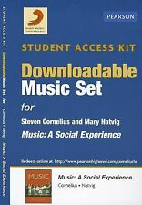 Download Music Card for Music: A Social Experience, SONY, Natvig, Mary, Corneliu
