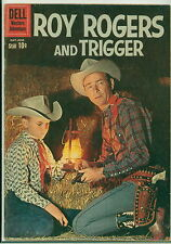 Dell Comic Roy Rogers #137 Photo Cover FVF