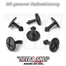 15x dispositivi di protezione posteriori klips clip protezione del motore Audi a4 a6 e VW PASSAT NUOVO #