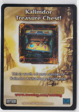 Kalimdor Treasure Chest -Loot Card-Tomb of the Forgotten-Aftermath-New-WoW
