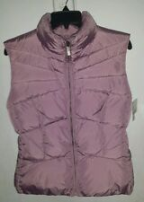New ADD Italy Light Purple Nylon EuropeanGoose Down Puffer Vest Jacket 8/46 $380