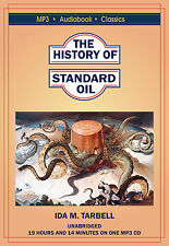 The History of the Standard Oil Company - MP3 CD Audiobook in DVD case