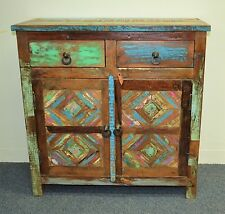 Reclaimed Recycled Timber Sideboard Cabinet Buffet Vanity Country Industrial