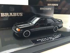 Minichamps 1/43 Mercedes 190E 3.6 S Brabus 1989 Black Art. 437032601