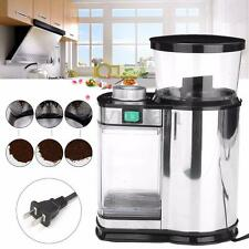 Electric Stainless Steel Coffee Bean Spice Grinder Mill US Plug Kitchen Bar Tool
