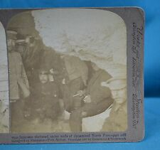 Stereoview Photo Russo-Japanese War Under The North Fort Port Arthur China 中国