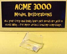 Corgi 240 Fiat 600 Jolly Reproduction Repro - Clear Plastic Windscreen Window