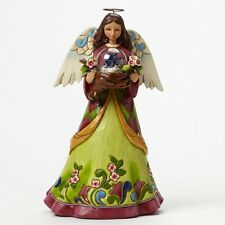 Heartwood Creek A Bird in the Hand Angel Figurine by Jim Shore in gift box 24236