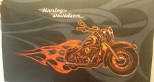 Harley Davidson Motor Cycle fabric for Flag/Throw etc.Misprint