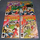 Fantastic Four vs X-Men Full Set of 4 #1 2 3 4 Marvel Comics 1986 VF+/NM Mini Sr