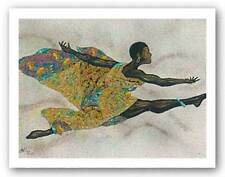 AFRICAN AMERICAN ART Black Flight by Alonzo Saunders