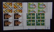 Belgium 1995 Games and Pastimes set in Block x 4 MNH
