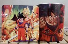 Dragon Ball Z Goku MAGIC COLOR CHANGING Coffee Mug with COASTER perfect gift G2