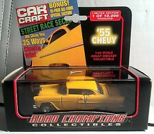 '55 CHEVY BEL AIR Road Champions Car Craft Cover Car 1:43 Diecast  MIP! LE