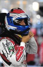 Marc Gene firmado Audi Le Mans retrato 2013