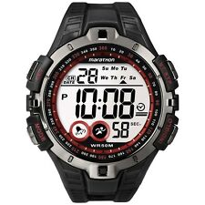 Timex T5K423 Mens Red Black Marathon Sport Watch RRP £24.99