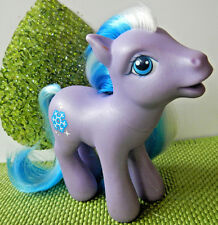 2002 My Little Pony MLP TOBOGGAN Generation 3 G3 WInter Snowflake vguc htf rare