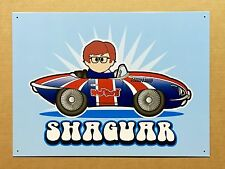 Weenicons Austin Powers Shaguar - Tin Metal Wall Sign