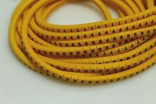 1000pcs cable marker,wire marker,cable ranging from 0.75sq.mm - 3.0sq.mm