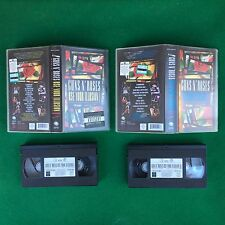 2 VHS Music - GUNS N'ROSES - USE YOUR ILLUSION 1 & 2 (1992) WORLD TOUR IN TOKYO