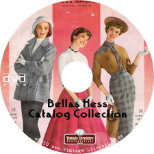 Bellas Hess  Catalog Collection { Retro 1921 to 1957 Fashion Design } on DVD