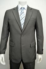 Men's Classic Fit Gray Dress Suit Size 48L NEW Suit