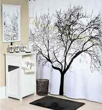 "New Fabric Waterproof Bathroom Shower Curtain 72"" Tree Design Decor Home"