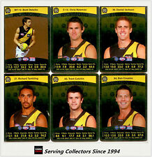 2010 AFL Teamcoach Trading Card Silver Parallel Team set Richmond (12)
