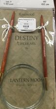 Lantern Moon Destiny Rosewood Circular Knitting Needles #9 - 40 Inch