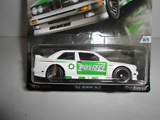 BMW M3 POLIZEI 1992 EURO STYLE REAL RIDERS HOT WHEELS 1/64