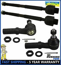 4 Pcs Kit Front Left Right Inner & Outer Tie Rod Ends Dodge Ram 1500 02-05