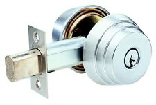 Arrow E Series #E61 Grade 2 Single Cylinder Deadbolt Locks - Satin Nickel