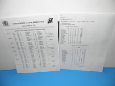 NHL Boston Bruins vs NJ Devils Sunday May 14th 1995 Garden Final Game PressNotes