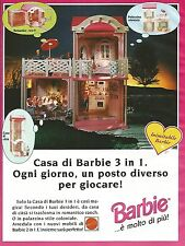 X7995 Casa di Barbie 3 in 1 - Mattel - Pubblicità 1994 - Vintage advertising