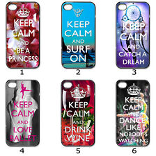 Designer Phone Hard Case Cover Keep Calm Variety Collection 6