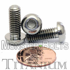 TITANIUM M6 x 16mm - DIN 9427 BUTTON HEAD Socket Cap Screw - BHCS - Ti Hex Allen