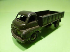 DINKY TOYS 621 BEDFORD RL 3-TON ARMY WAGON - ARMY GREEN 1:50? - GOOD - MILITARY