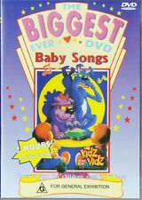 THE BIGGEST EVER BABY SONGS - 2 HOURS! - NEW & SEALED DVD
